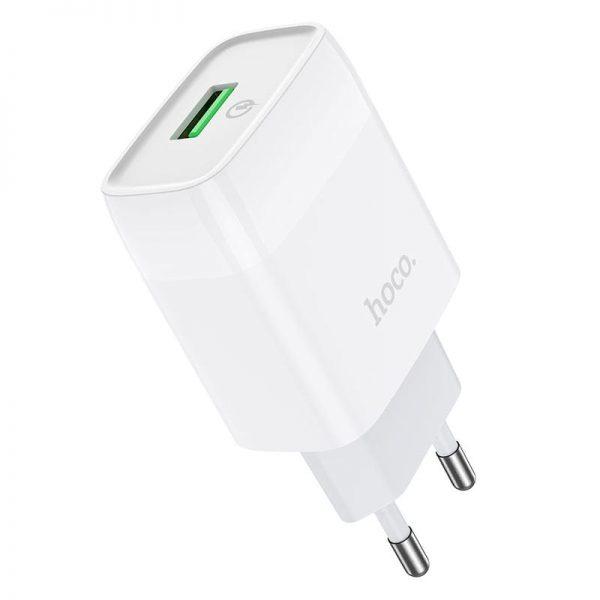 Сетевое зарядное устройство Hoco C72Q Glorious